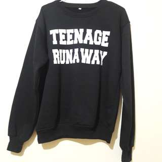 FREE ONGKIR JABODETABEK Sweater teenage runaway Harry Styles