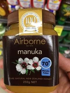 New Zealand Airborne Manuka Honey 250g 紐西蘭Airborne蜂蜜