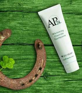 AP24 or Anti-Plaque for 24hrs Whitening Flouride Toothpaste