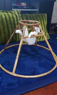 Bamboo wood old fashion Babywalker
