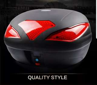 Motorcycle Top Box WANSHILE A109 43L