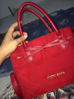 Sling bag/ Shoulder bag red