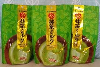 🚚 現貨 日本伊藤園抹茶牛奶 ITONE雙抹茶牛奶 200克 冷熱泡 嚴選2種抹茶與香濃牛奶的調和 辦公室下午茶 辦公室美食