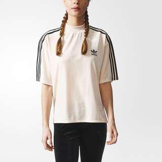 Adidas Velour/Velvet t-shirt