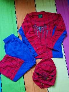 Set spider man (size 4)