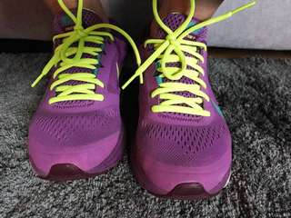 Purple Neon Trainers