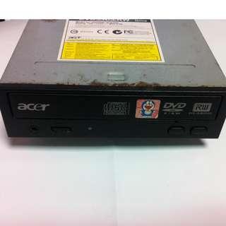 Acer DVD燒錄機~前置耳機孔 (DVDRW-161648A)~二手良品