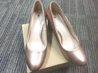 Vincci Heels (Rose gold)