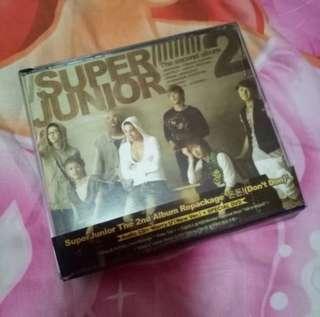 Super Junior 2nd Album Repackaged