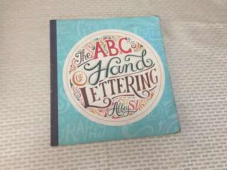 THE ABC HAND LETTERING BOOK