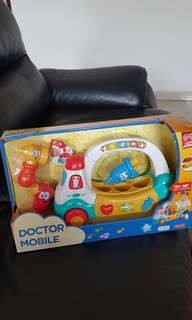 Doctor mobile kids toy