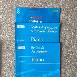ABRSM Scales and Arpeggios
