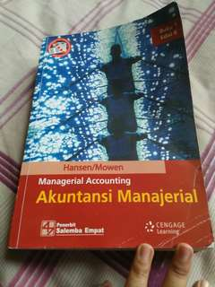Akuntansi manajerial salemba 4