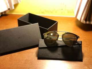 Dior Reflected Prism Sunglasses Silver