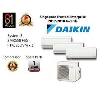 Daikin Inverter System 3 $2240