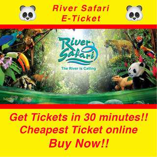 River Safari Singapore E-Ticket