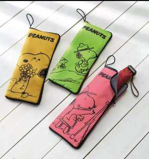 日式史努比防水雨傘套