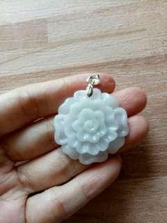 🚚 天然翡翠牡丹花