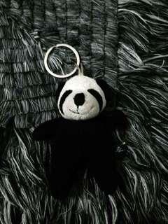 Blue Magic panda keychain