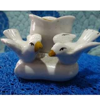 Ceramic mini flower vase