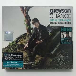 Greyson Chance Hold On 'Til The Night Album