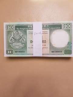 青蟹100張中間壹摺