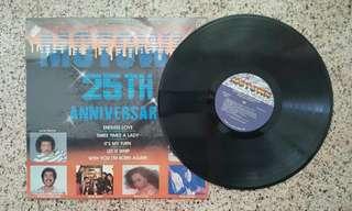 經典懷舊英文 LP黑膠唱片 - Motown 25 週年紀念版