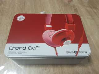Chord clef headphone