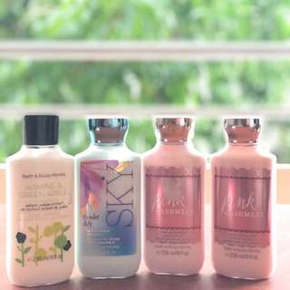 Bath & Body Works Lotion (original from the states)