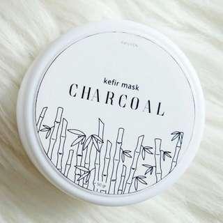 Masker Kefir Charcoal