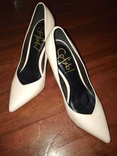 Nude Pointed Pumps/Heels by So Fab!