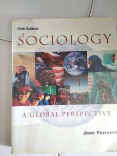 Sociology, A global perspective, Ferrante