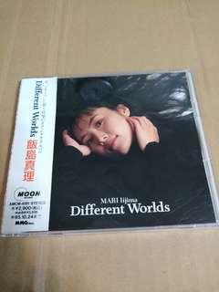 (折實價$119+包平郵) 飯島真理 Different Worlds 日版cd