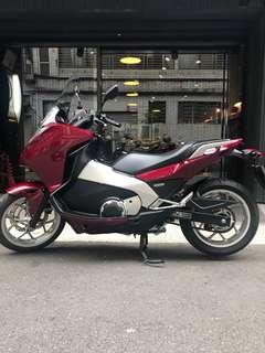 2014年 Honda Integra NC700D ABS 只跑一萬多公里 可分期 免頭款 可換車 另有大學生分期專案 硬地瓜