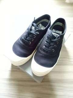 🚚 PALLADIUM厚底黑色休閒鞋