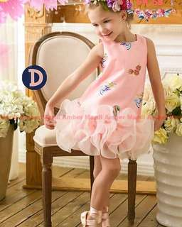 DRESS TUTU ANAK IMPORT