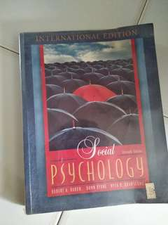 Social Psychology textbook