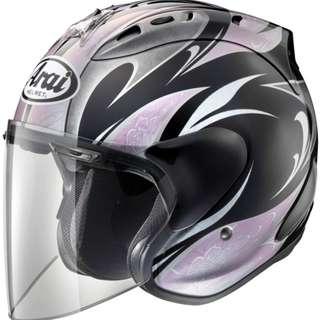 ARAI SZ-RAM4 KAREN [Black/Pink] Helmet
