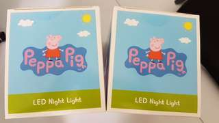 Peppa Pig LED Night Light (1 pair)