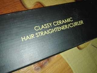 Ceramic Hair straightener/curler