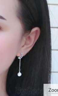 ◇elegant moon earrings