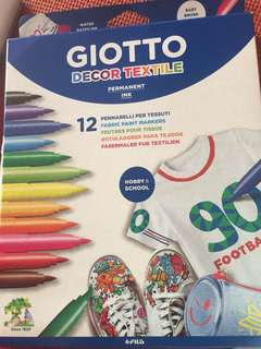 Giotto Fabric Paint Makers