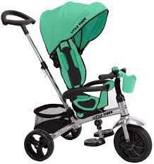 Little Tiger - Teal tricycle kids