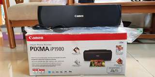 Inkjet photo printer ( canon pixma ip1980)