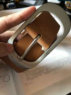 (USED) ESPRIT GENUINE COW LEATHER BELT
