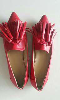 Red Leather Shoe