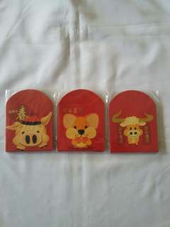 3 pack *shop with us* Red Packet / Ang Pow / Ang Bao / Hong Bao