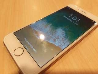 iPhone 6 gold smart locked