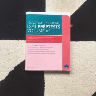 LSAT 10 Actuals, Volume VI