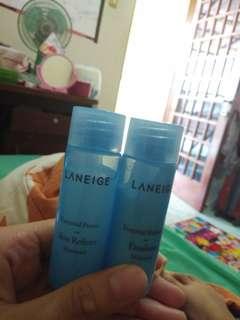 Laneige essential power skin refiner moisture + laneige essential balancing emultion